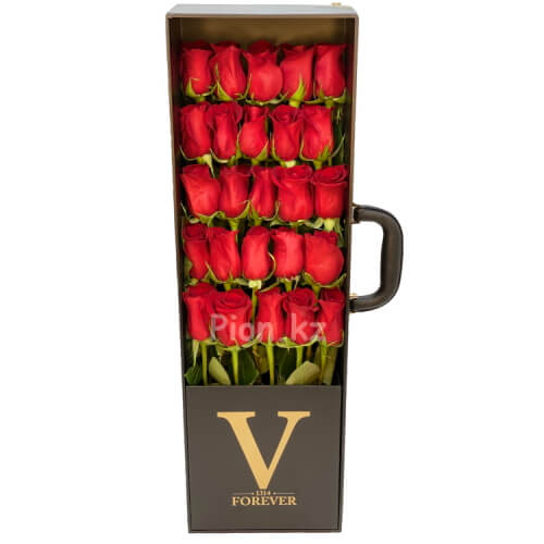 Коробка из роз